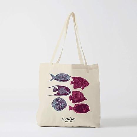 Bolsa de lona para pesca, bolsa de algodón, bolsa de la ...
