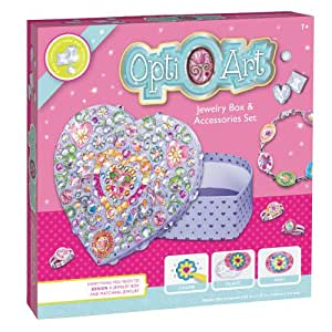 Faber castell opti art jewelry box and for Amazon arts and crafts for kids