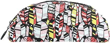Estuche Boho Bohemia Native American Hippie bolsa de lápices caja de oficina escuela suministros de escritura papelería: Amazon.es: Oficina y papelería