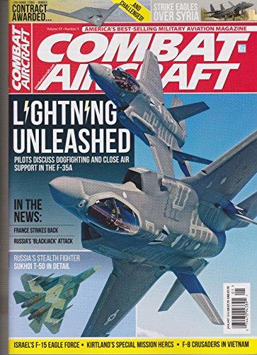 COMBAT AIRCRAFT MAGAZINE JANUARY 2016, America's Best Selling Aviation (January Crafts)