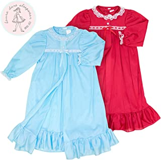 product image for Laura Dare Big Girls Long Sleeve Traditional Peignoir Set, (8-14)