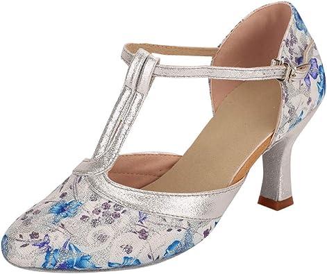 Luckycat Zapatos Salón Zapatos Piel Mujer Hechos EN ESPAÑA Zapatos Tacón Negro Zapato Zapatos Mujer Tacón Zapatos Mujer Fiesta y Baile Latino Zapato Cómodo Mujer con Plantilla Confort Gel: Amazon.es: Zapatos y