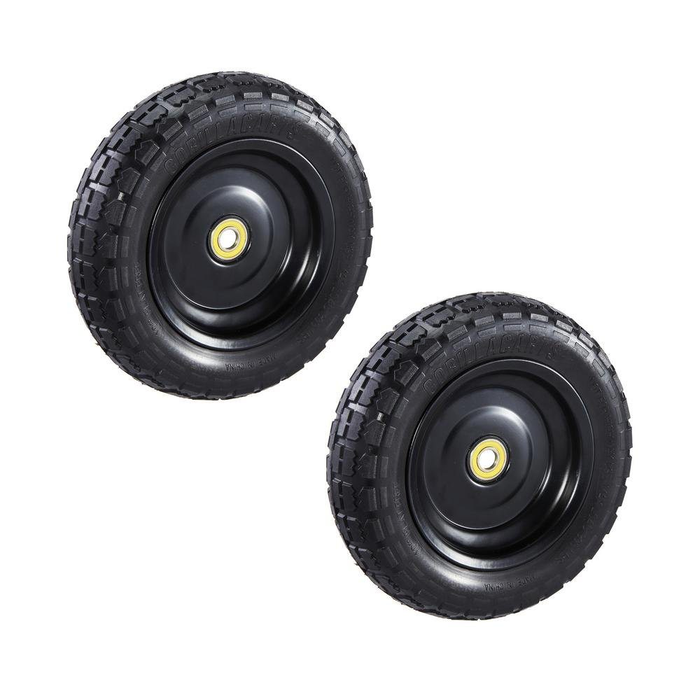"Gorilla Carts GCT-10NF Replacement Tire, 10"" (2-pack)"
