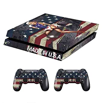PS4 Console Design Folie Aufkleber Sticker Skin Fur Sony ...