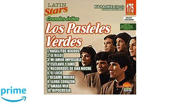 Los Pasteles Verdes - Karaoke: Los Pasteles Verdes - Latin Stars Karaoke - Amazon.com Music