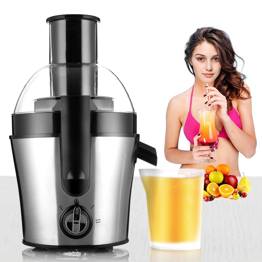 Juice Maker, Professional Orange Juice Maker Fresh Cool Centrifugal Juice Extractor