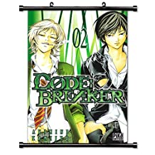 Code: Breaker Anime Fabric Wall Scroll Poster (32 x 48) Inches [TJ]Code-4 (L)