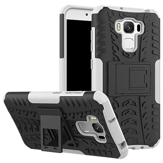 """49 opinioni per SMTR Asus Zenfone 3 Max ZC553KL (5.5"""") Case Dual Layer Custodia ibrida Rigida"""