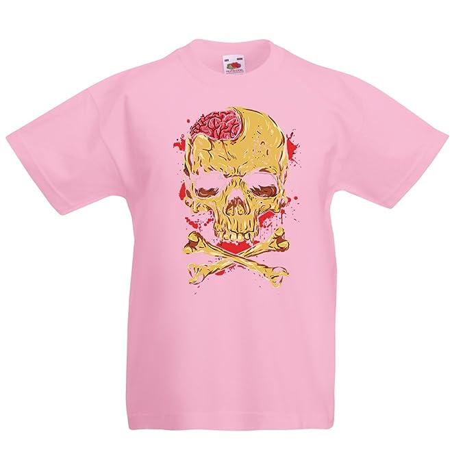 Amazon com: lepni me Kids T-Shirt Skull and Bones - Vintage, 80s