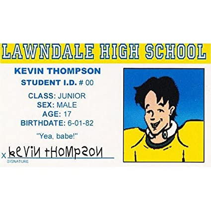 Buy Signs 4 Fun Ndidk Kevin's Driver's License Online at Low