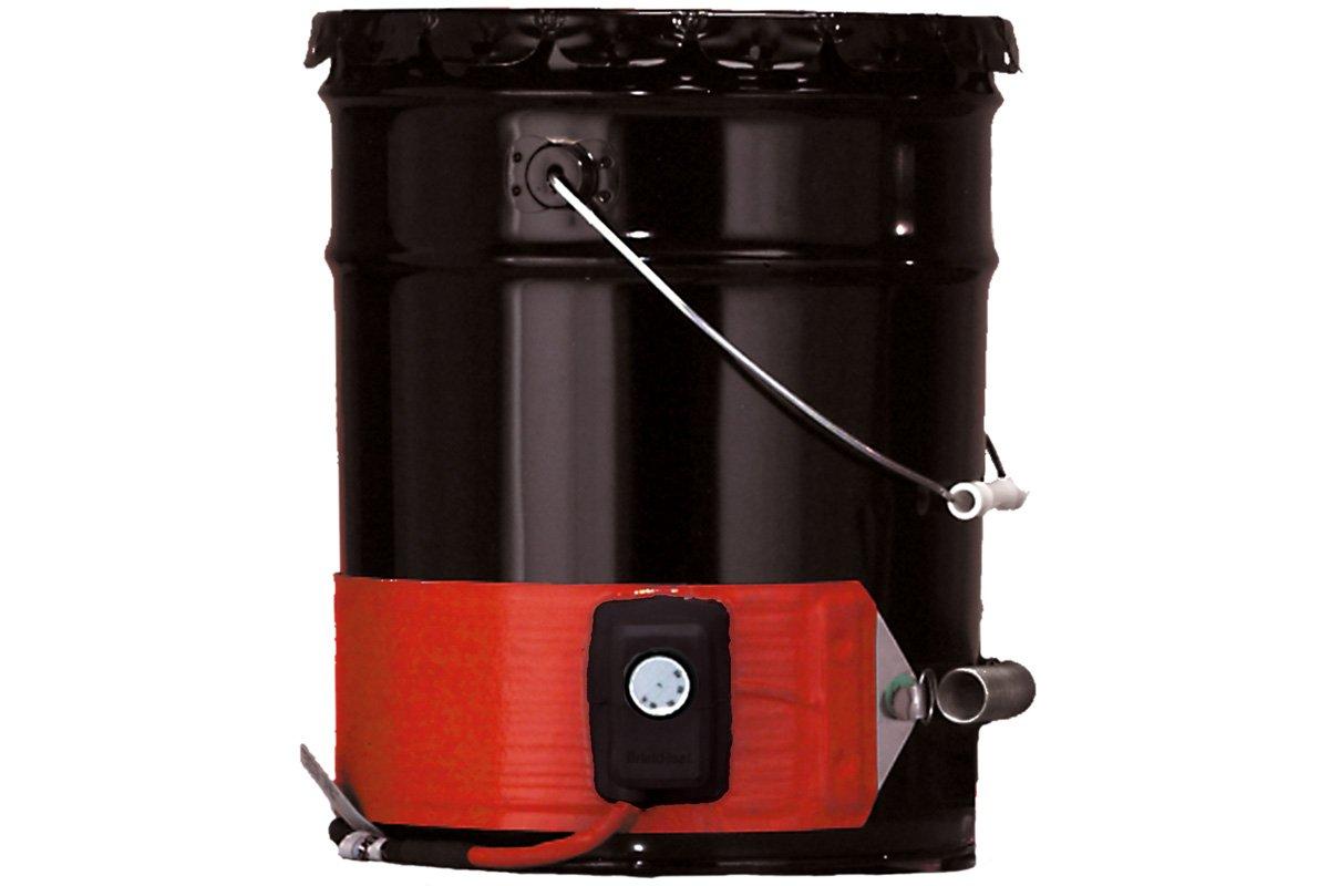 BriskHeat DHCS25 Heavy-Duty Drum/Pail Heaters (DHCS/DPCS), Silicone Rubber