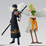Bandai Shokugan Super One Piece Styling Trafalgar Law and Monet