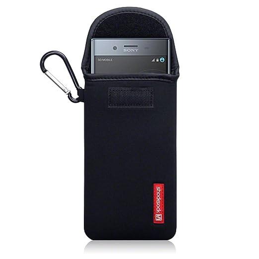 3 opinioni per Shocksock Neoprene Custodia Sacchetto Manicotto con Carabiner per Sony Xperia XZ