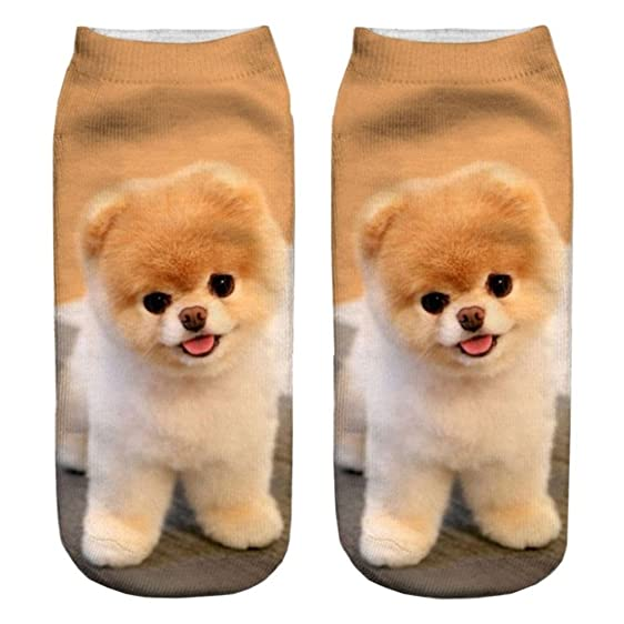 3D Print Socks Dog Womens Socks Casual Charactor Socks Unisex Cute Style