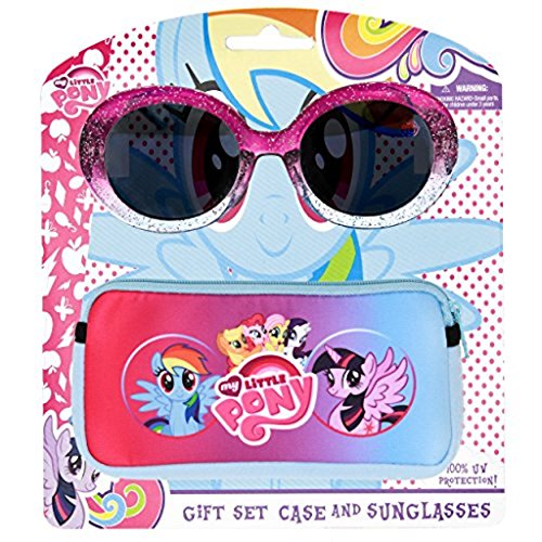 My Little Pony Oval Sunglasses and Case