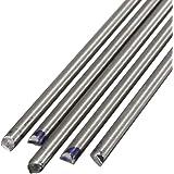 ASTM B348//ASME SB-348 Annealed Mill Unpolished Finish 0.25 Diameter Grade 2 Titanium Round Rod 48 Length