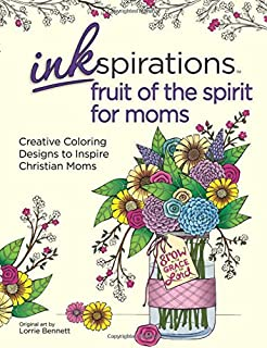 Amazon.com: Inkspirations Fruit of the Spirit: Coloring Designs to ...