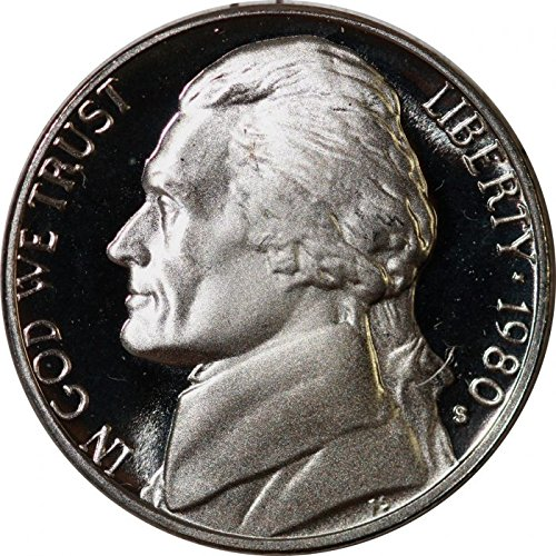 1980 S Proof Jefferson Nickel PF1