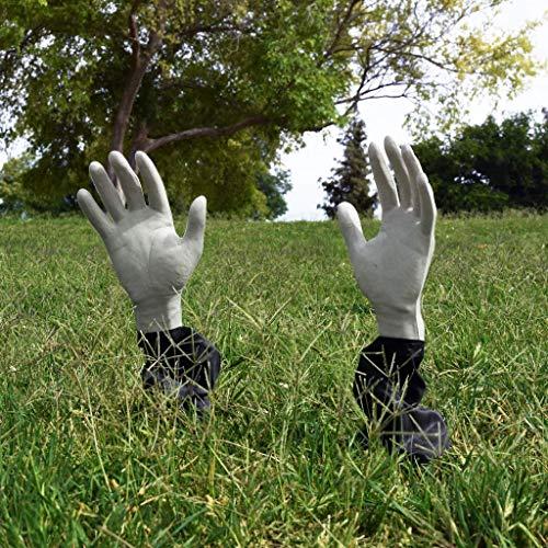 Decoracion Halloween Zombie (Kangaroo Lawn Zombie Hands; Scary Halloween)