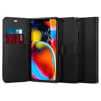 スマホケース iPhone 11 Pro ケース ウォレットS サフィアーノ 077CS27247 (ブラック)