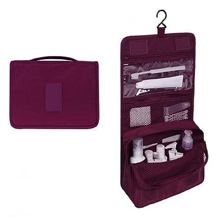 Amazon.com: Colorido Women Travel Portable Hanging Cosmetic ...