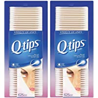 Q-Tips Cotton Swabs, 625 Count, Pack of 2
