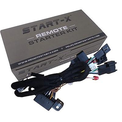 Start-X Remote Starter for Silverado & Sierra 1500/2500/3500 2015-2020 || Plug N Play || 3 X Lock to Remote Start: Car Electronics