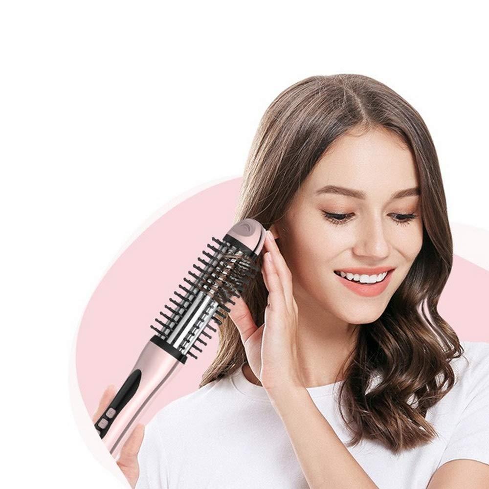 WUZHONGDIAN Comb, Small Electric Hair Comb Hair Straight Hair Splint Dual-use Hair Comb, Pink. by WUZHONGDIAN
