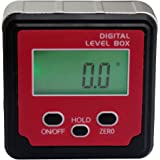 IUEGB Level Box Digital Protractor / Angle Finder / Inclinometer / Bevel Gauge with Automatic LCD Backlight and Magnetic Base