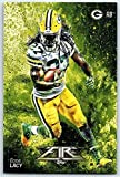 #7: Football NFL 2014 Topps Fire #52 Eddie Lacy NM-MT Packers