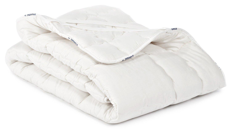 Badenia Bettcomfort Spannunterbett Irisette Merino wash, 140 x 200 cm, weiß