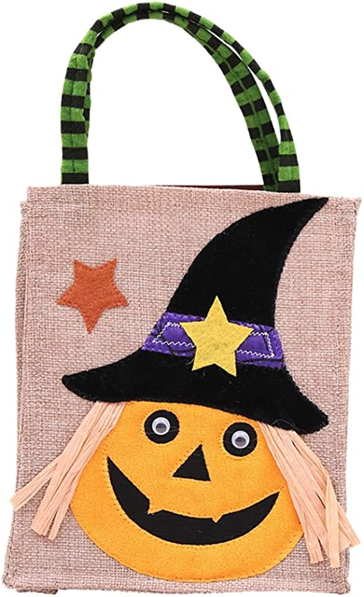 BAG OF 16 SMALL PUMPKIN TEETH Halloween Haunted Prop