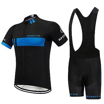 Amazon.com: Moxilyn - Conjunto de ropa de ciclismo para ...