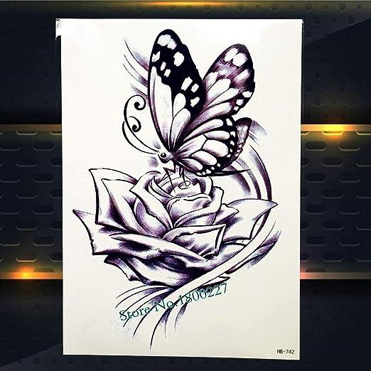 Zhuhuimin 5 Unidades/Set Cool Man Body Art Pintura Tatuaje ...