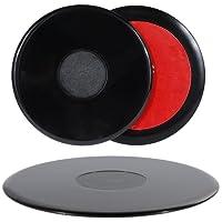 Rovtop 3 pcs Selbstklebende Platten für das Armaturenbrett 1* 105mm und 2* 75mm Pack (Adhevise disks)