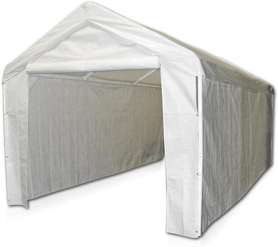 Caravan Canopy Sports 10x20 Domain Carport Garage Sidewall//Enclosure Kit