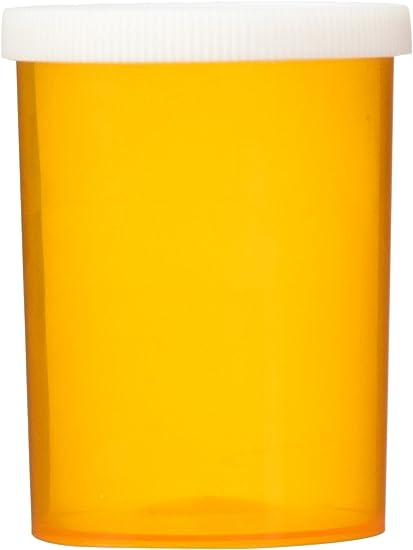 12-Pack Yellow Brick Road 30 Dram Prescription Vial Snap Cap