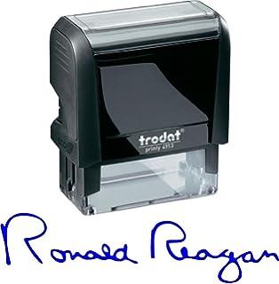 amazon com custom signature stamp self inking personalized