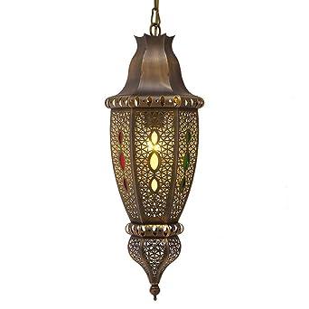 Lámpara colgante, Marruecos Artesanía Diseño Lámpara de ...