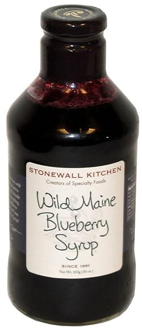 Amazon.com : Stonewall Kitchen Wild Maine Blueberry Syrup, 30 oz ...