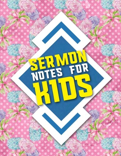 Sermon Notes For Kids Bible Notebook Journal Doodle Draw And