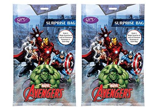 Avengers Surprise Bag Surprise Gift Inside Pack of 2 Bags Ea