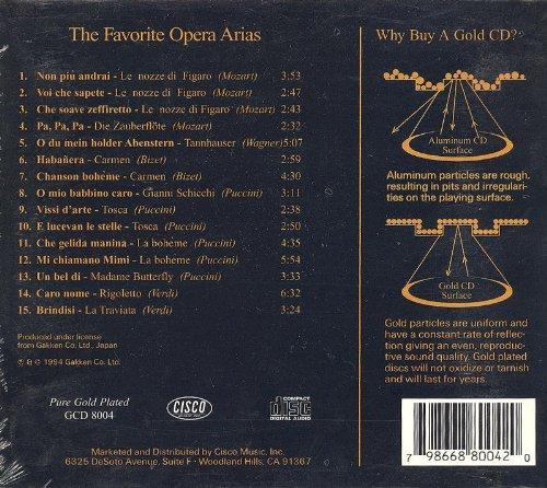 Favorite Opera Arias - Gold Edition