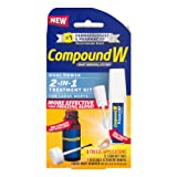 Compound W Wart Removal System 2-in-1 Treatment Kit
