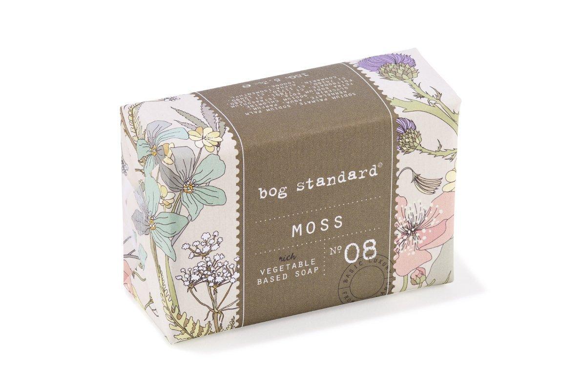 Irish Moss Soap Made in Ireland by Bog Standard