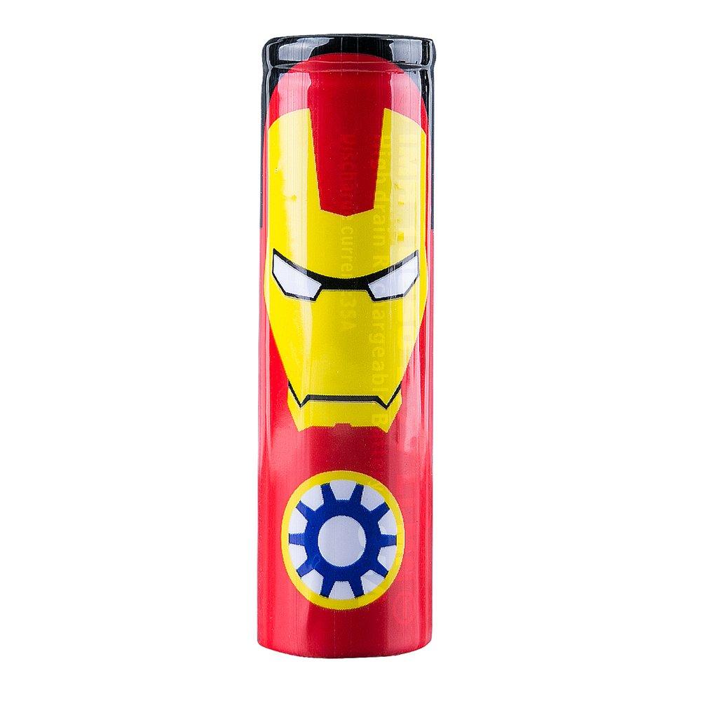 5Pcs 18650 Battery Wraps Heat Shrink PVC Sleeve Heat Shrink Wrap (Batman) Heartbeat
