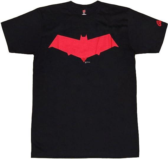 Amazon Com Dc Comics Red Hood Symbol Jason Todd T Shirt Clothing
