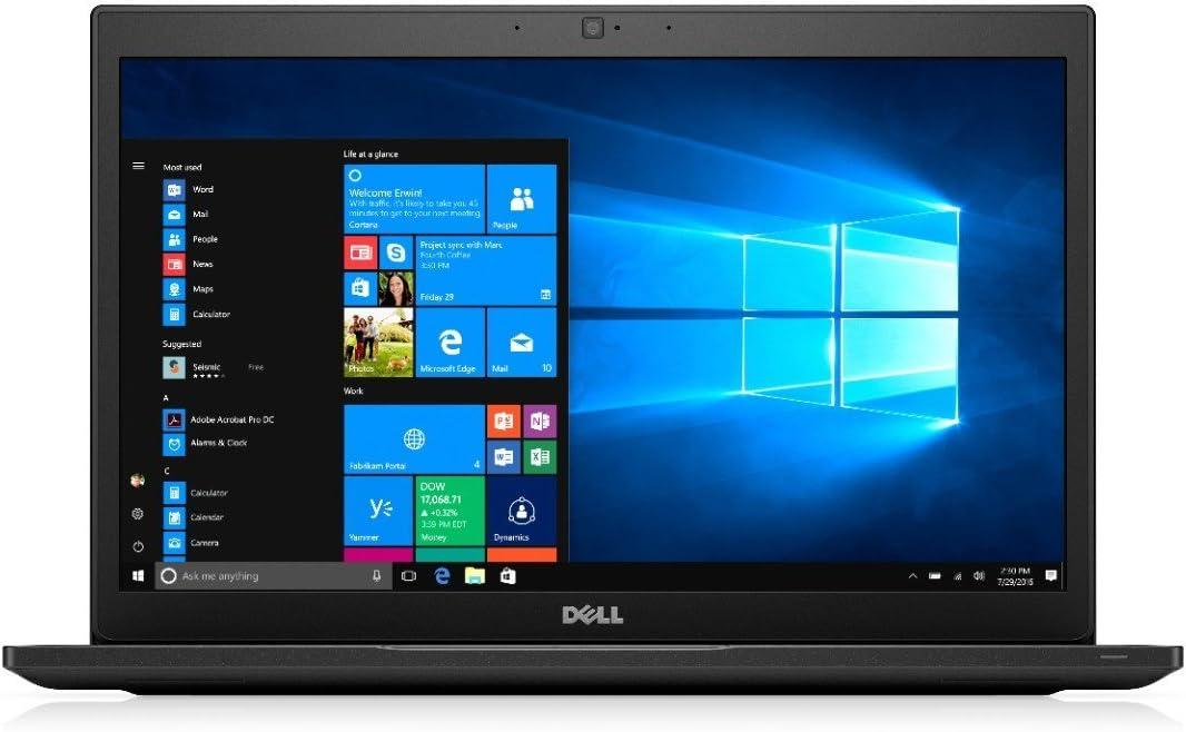Dell Latitude 7480 Business-Class Laptop | 14.0 inch FHD Display | Intel Core i7-6600U | 16 GB DDR4 | 256 GB SSD | Windows 10 Pro (Certified Refurbished)