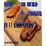 How to Build A Simple Meat Smoker DIY at home Smoke house 11 easy steps