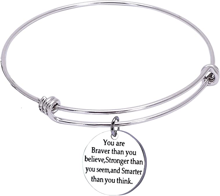ASB10 One Shoe can Change Your Life Stainless Steel Adjustable Bracelet